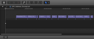 New FCPXML subtitle timeline